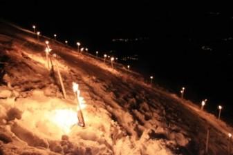 FIACCOLATA di CAPODANNO  * 1 gennaio 2012 – Monte D'Oro