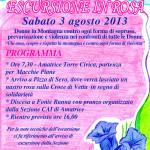manifesto escursione in rosa 3-8-2013