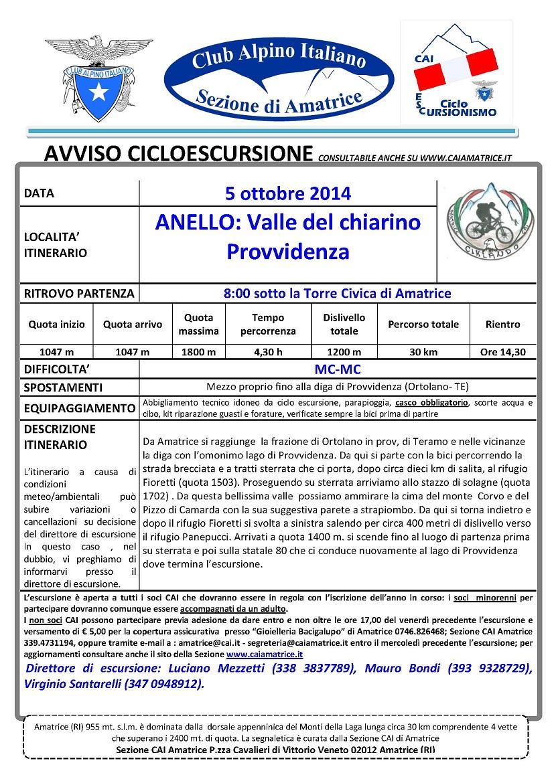 Ciclo Chiarino 5.10.2014 B