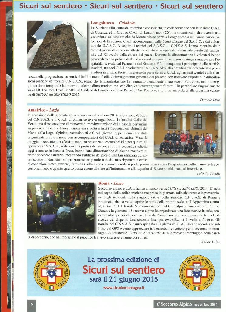 articolo sicuri sul sentiero nov 2014