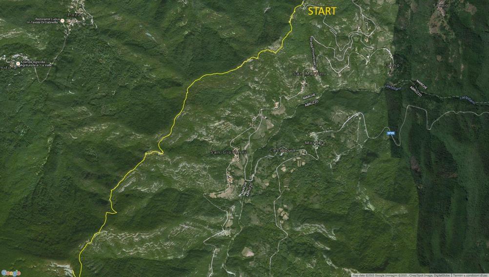 escursione TAM Montecalvo