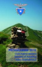 Programma 2016 attività sezionali